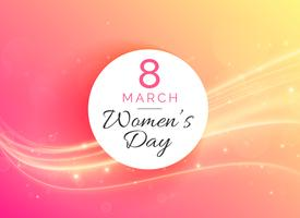8. März internationaler Hintergrund der Frau Tagesfeier