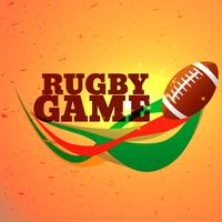 rugby game sports background