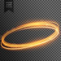 neon transparent golden light effect background