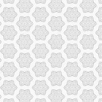 motif abstrait d'étoile et de lignes