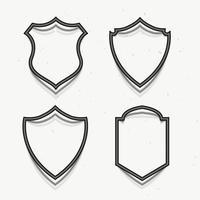 prêmio emblemas símbolo em estilo 3d