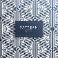 abstrakt triangelmönster gjord med linjer