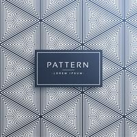 abstract triangle pattern made with lines