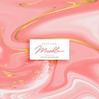Fondo de textura de mármol rosa premium con tonos dorados