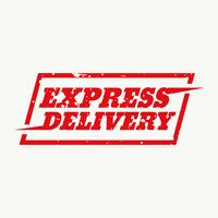 express delivery sign vector design