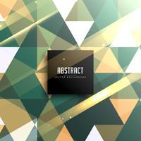 abstrait vintage triangles géométriques brillants