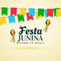 holiday background of brazil festa junina festival