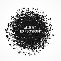abstract particles explosion grunge background