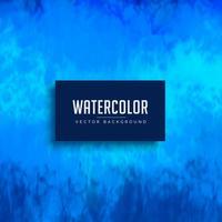 blaue Aquarellfleck-Hintergrundbeschaffenheit
