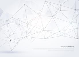 abstrakt digital wireframe poly mesh bakgrundsdesign