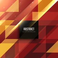 röd och gyllene geometriska abstrakt bakgrund