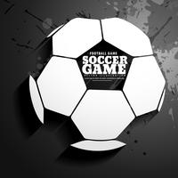 background for soccer game vector