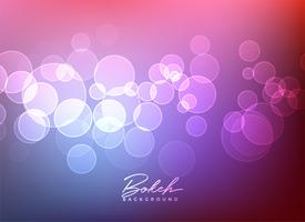 shiny bokeh lights vector background