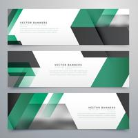 moden business banners vector background