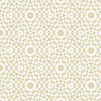 Patrón geométrico abstracto dorado hecho con líneas.