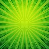 green pop art comic book style retro background with exploding r