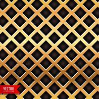 Fondo de vector de textura de metal dorado
