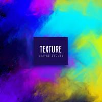 diseño de fondo de textura de acuarela colorida