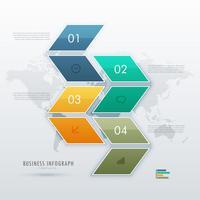 design de modelo infohraphic para apresentação