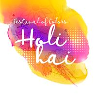 beautiful indian holi festival design