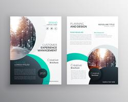 creative business brochure design with space for your text