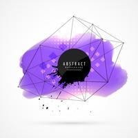lila Aquarellfleck Hintergrund