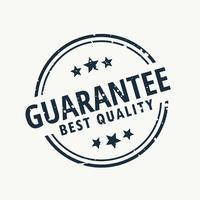 waarborg de beste kwaliteitszegel