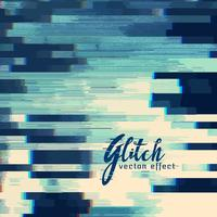 Fondo abstracto glitch en tono azul