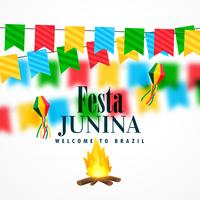Festival de junio de brasil de festa junina celebracion