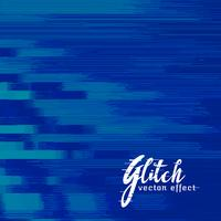 design de fond bleu abstrait glitch