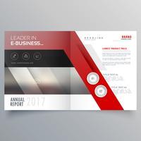 Broschürenvorlagendesign der abstrakten Formen. Magazin-Cover
