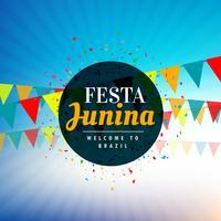 achtergrond voor festa junina festival