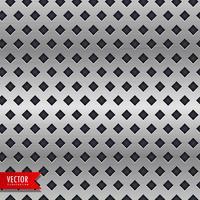 fundo de metal com padrões de forma de losango