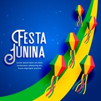 festa junina ontwerp voor juni festival