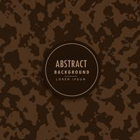 Patrón de camuflaje abstracto en tono marrón