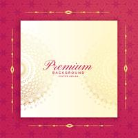 awesome luxury template vector design