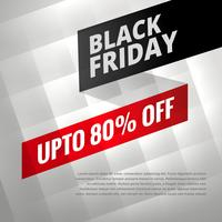 black friday sale discount poster with shiny silver background