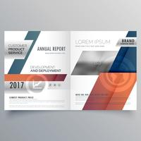 abstract modern bifold brochure design for your business