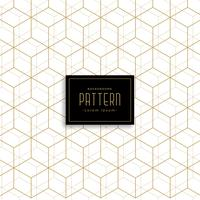 gold geometric cube style pattern background