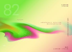 diseño de fondo degradado de colores brillantes líquidos