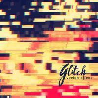 glitch vector effect design background