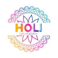Fondo de celebración festival de colores holi.