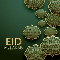 beautiful islamic patterns design eid mubrak festival greeting