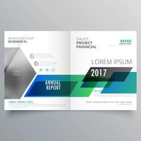Bifold Template-Design für kreative Geschäftsbroschüre