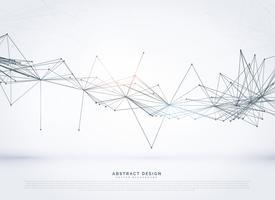 sfondo di rete metallica digitale in stile di connessione tecnologia