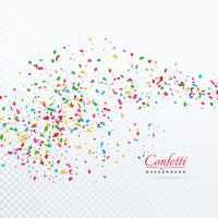 abstract tiny confetti transparent background