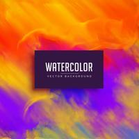 heldere waterverfachtergrond met inkt stromend effect
