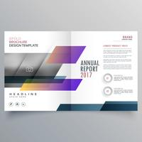 stylish magazine booklet brochure design promotional template