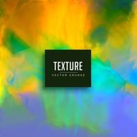 fond de vecteur de texture aquarelle colroful
