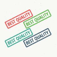 Sello de goma de la mejor calidad en diferentes colores.